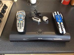 Sky+ HD Box and Controllers