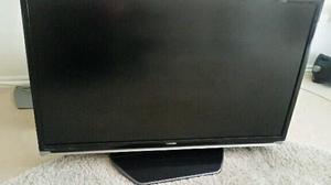 "40""TOSHIBA TV BUILTIN FREEVIEW HDMI PORTS REMOTE CAN DELIVER"