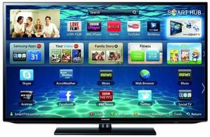 "46"" SAMSUNG SMART LED FULL HD FREEVIEW USB TV CAN DELIVER"