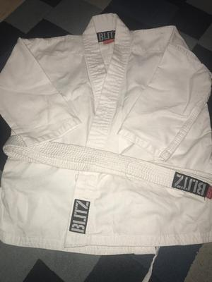Blitz karate top and belt