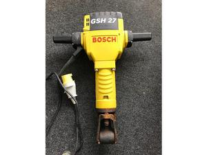 Bosch GSH27 concrete breaker and transformer in Portsmouth