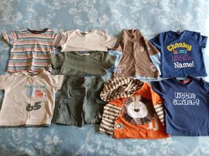 Children's Clothes Bundle of Clothes Tee Shirts 9-12 months