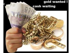 Gold WANTED cash waiting in Bishop Auckland