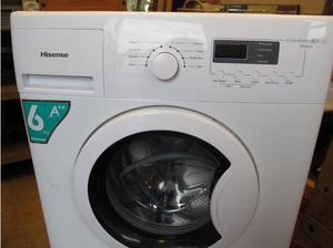 Hisense WFEAkg Washing Machine. Less than 1 year old.
