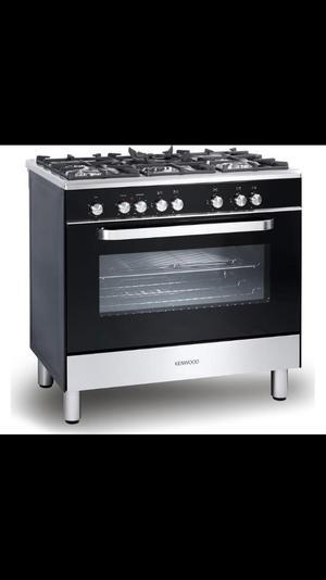 KENWOOD CK Dual Fuel Range Cooker - Black