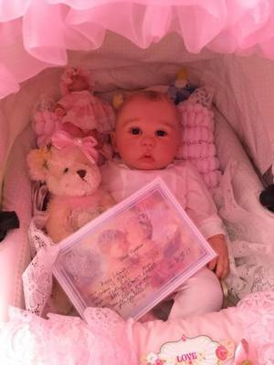 Lovely reborn baby girl