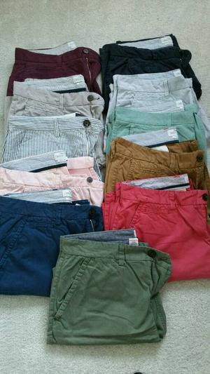 Next Chino Shorts x 11 pairs