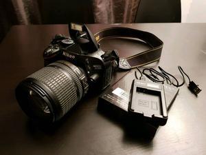 Nikon D DSLR camera with official Nikon mm lens excellent condition.