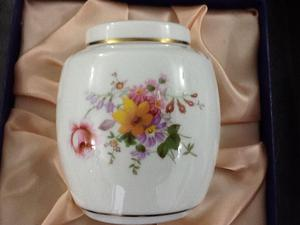 Royal Crown Derby Pot (Never been used) Take a Look!