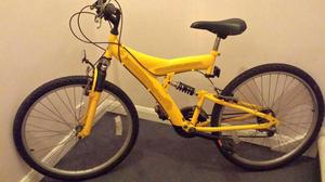 Small Adult Mountain Bike with F/R Suspension