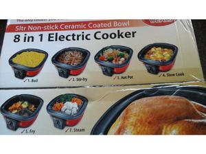 Unused still in box 8 in 1 Electric Cooker in Ipswich