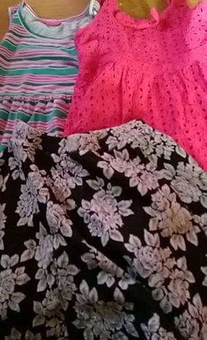 girls age 6-7 dresses and skirt good condition