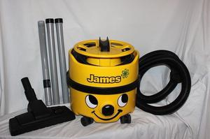 BOXED Numatic Yellow James Hoover, includes hoover bag and, hepi filter, with tools. As new.