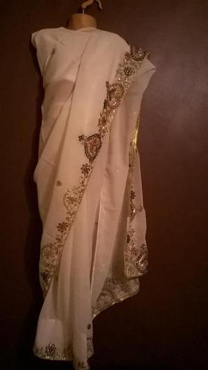 Children's Bollywood designer sarees with matching blouse