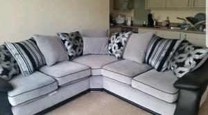Corner sofa + 2 seater matching sofa