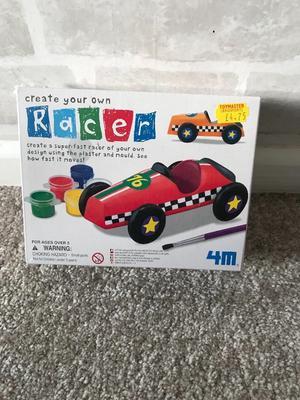 Create your own racing car kit