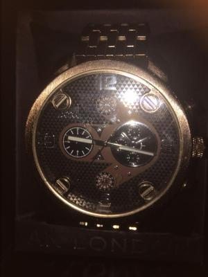For sale a new in the box one gents watch in box