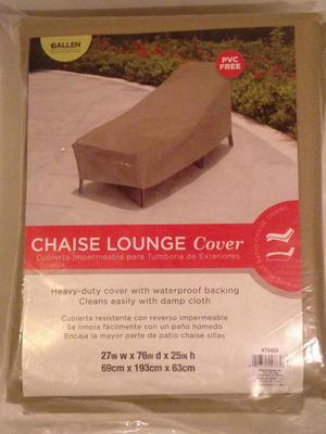 New ALLEN Chaise Lounge Outdoor Furniture Weather Protector