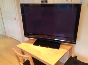 """Panasonic Viera 37"""" Plasma TV, Black"""