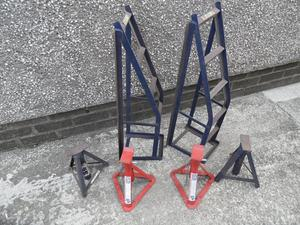 Ramps and axle stands