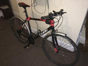 SL Road  Bike - One Year Old - includes Mud Guards, Lights, Two Locks, Pump and Helmet