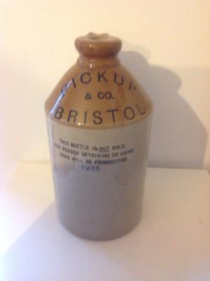 Stoneware Flagon - Pickup&co Bristol