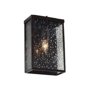 Varaluz 704S01GB Mission You Outdoor Frosted One Light Small
