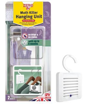 Zero In Moth Killer Hanging Unit Twin Pack - ZER432