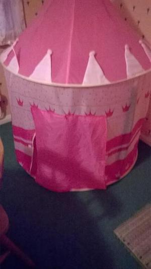 disney princess castle pop up tent