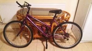 raleigh max ladies mountain bike 15 speed purple