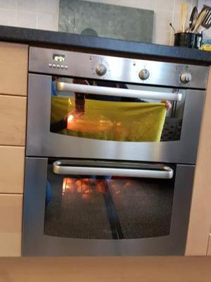 whirlpool integrated double oven