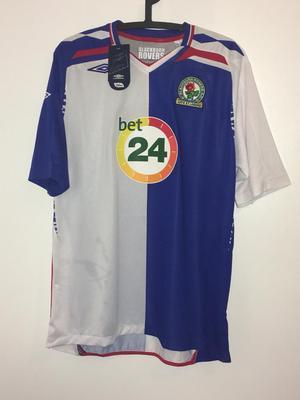 Blackburn rovers football shirts