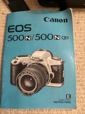 Canon EOS Camera 500N