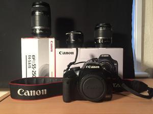 Canon EOS Rebel XSi / 450D + 3 LENSES (SLR camera 12.2-megapixel)
