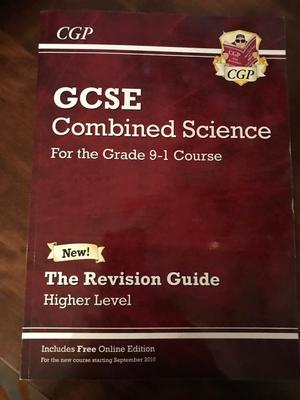 GCSE Combined Science Grade 1-9 Revision Guide
