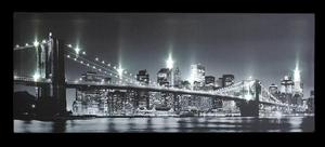 LED New York Canvas with Remote Control