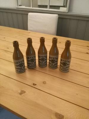 Old Stoneware Bottles