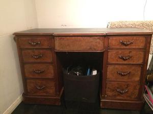 Vintage wooden work desk (make me an offer)