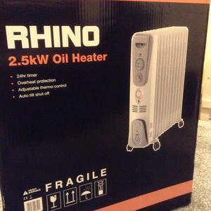 2.5kW Rhino electric oil heater