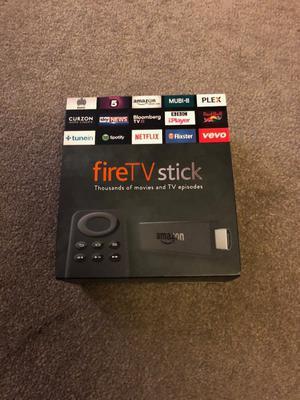 Amazon Fire TV Stick. Boxed with original accessories.