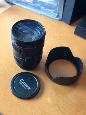 Canon mm  IS L USM lens
