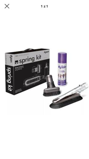 Dyson spring cleaning kit Brand New