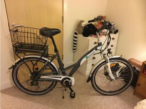 Electric step through bike in good condition in Andover