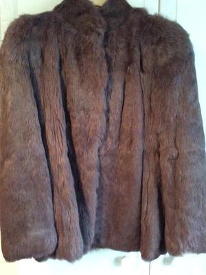 Fur jacket size 12