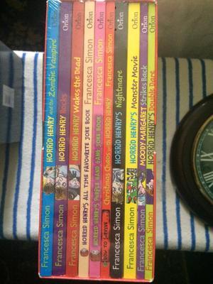 Horrid Henry book set of 10 sealed new