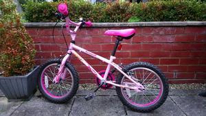 """Kids Bike - Pink Apollo Roxie Bike - 16"""" wheels"""