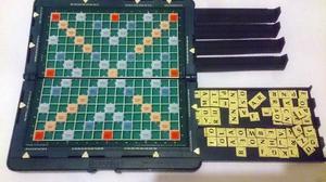 "Mattel Magnetic ""POCKET SCRABBLE"" Portable Word Board Game"
