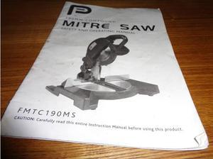 Mitre Saw 190mm compound tm in Launceston