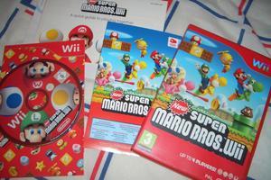New Super Mario Bros. Nintendo Wii Boxed