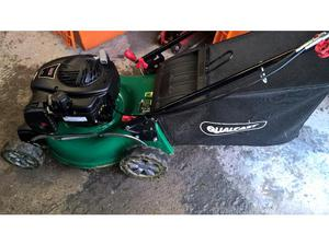 Qualcast 450E series self propelled petrol lawn mower with
